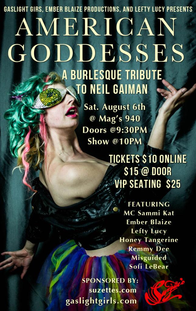 Gaiman Show Flyer done